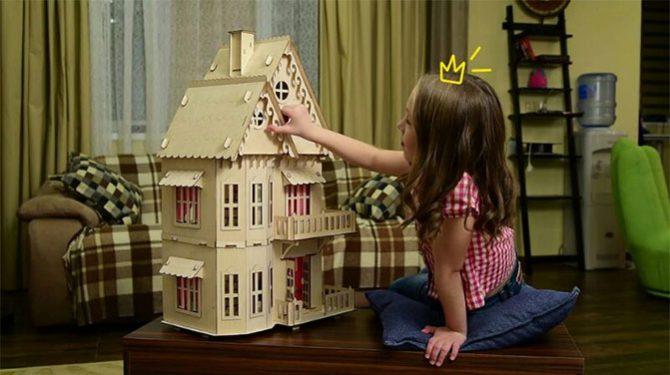 Конструктор «Кукольный домик» 3