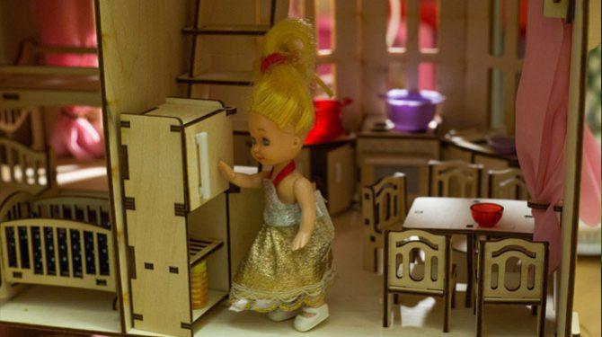Конструктор «Кукольный домик» 4