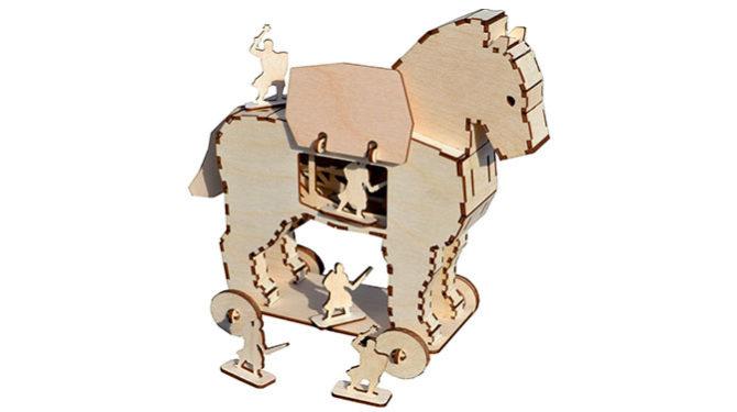 Конструктор «Троянский конь» 0
