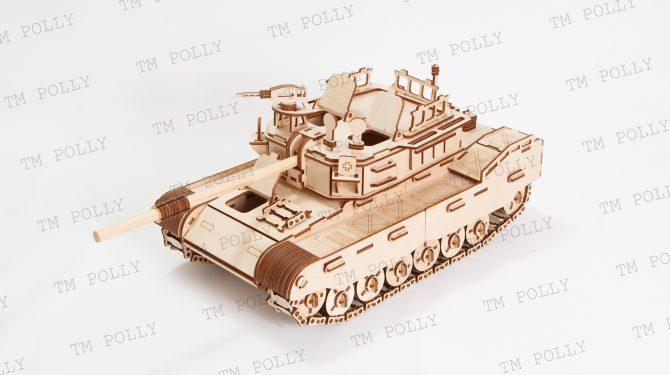 Конструктор «Боевой танк» 1