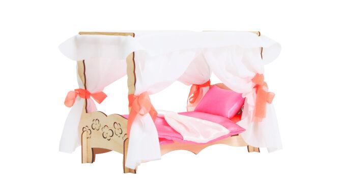 Конструктор «Чудо-кровать с балдахином» + спальный набор