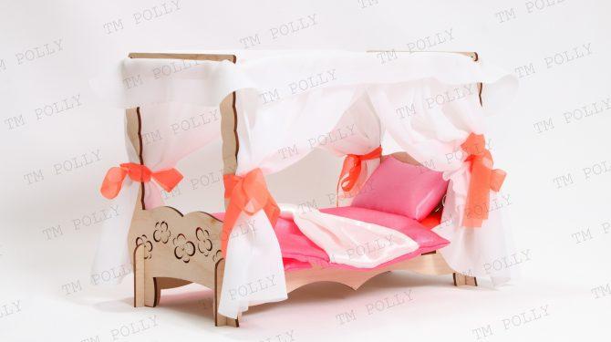 Конструктор «Чудо-кровать с балдахином» + спальный набор 0