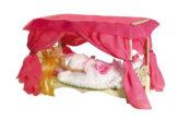 Чудо-кровать с балдахином без текстиля