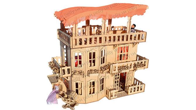 Чудо-дом, подходит для Барби 0