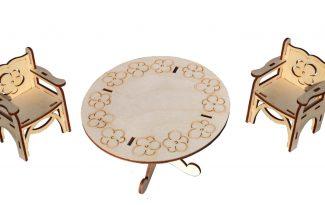 Конструктор «Стол и стулья»