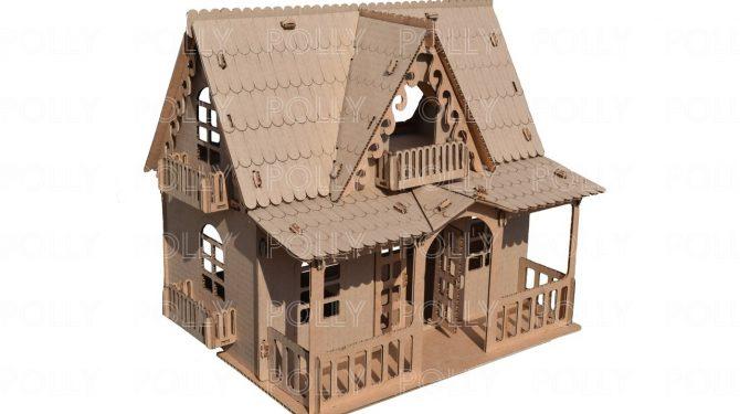 «Country house» из картона