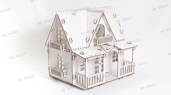 Конструктор «Country house» из картона 0