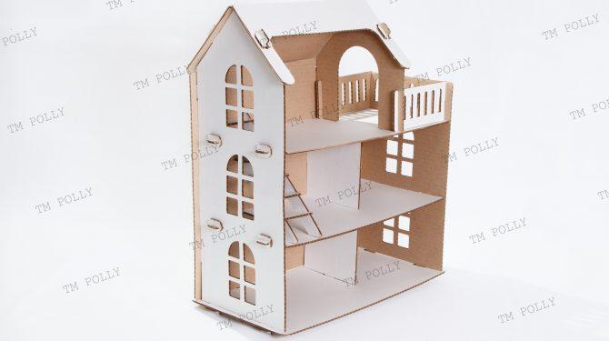 Конструктор «Eco дом» из картона 0