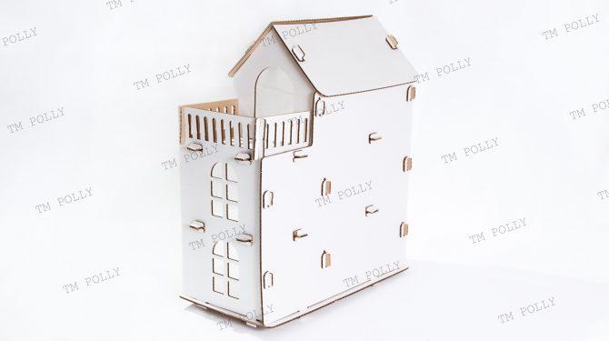 Конструктор «Eco дом» из картона 1