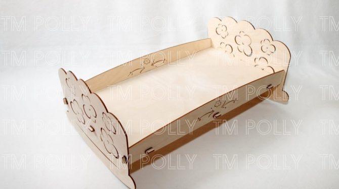 Конструктор «Кроватка для пупсов»