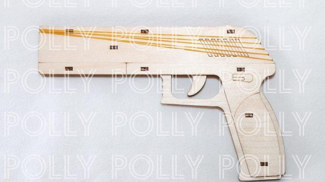 Конструктор «Пистолет» резинкострел