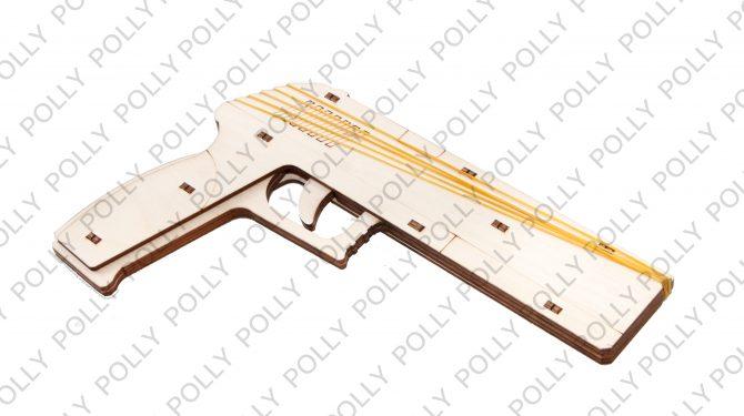Конструктор «Пистолет» резинкострел 0