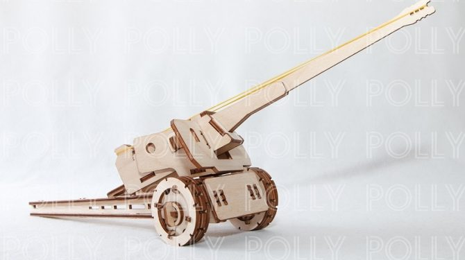 Конструктор «Пушка» резинкострел
