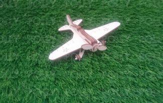 Конструктор «Военный самолет И-16»