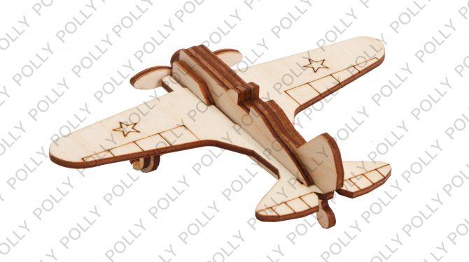Конструктор «Военный самолет И-16» 0