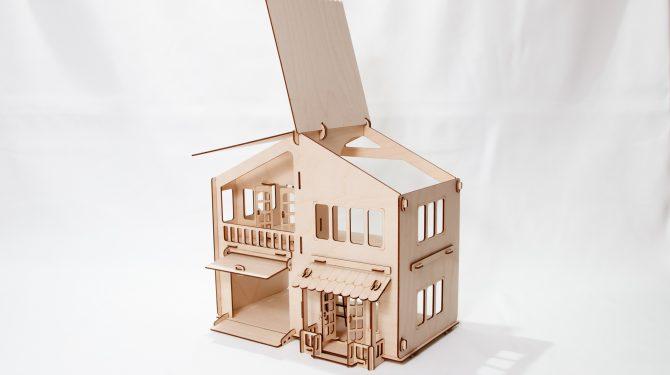 Конструктор «Дом с гаражом» 1