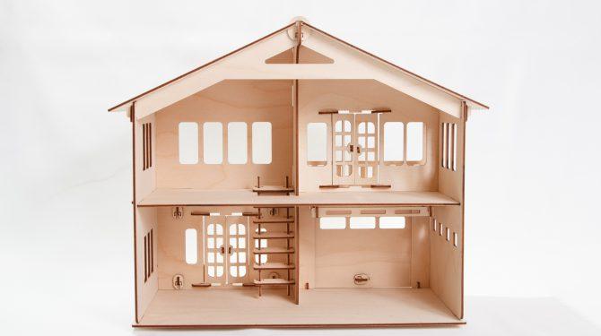 Конструктор «Дом с гаражом» 2