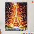 Картина по номерам на холсте 50х40 см. «Эйфелева башня» 0 Preview
