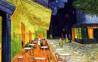 Картина по номерам на холсте 50х40 см. «Ночное кафе» Ван Гог