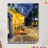 Картина по номерам на холсте 50х40 см. «Ночное кафе» Ван Гог 0 Preview