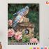 Картина по номерам на холсте 50х40 см. «Синешейки в саду» 0 Preview