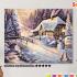 Картина по номерам на холсте 50х40 см. «Зима» 0 Preview