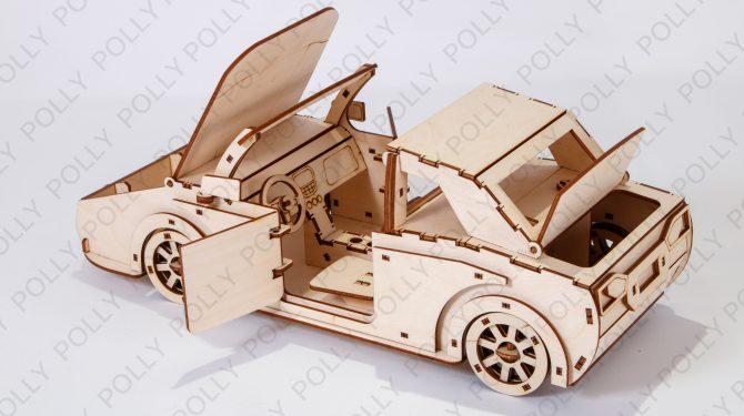 Конструктор «Чудо-автомобиль» 0