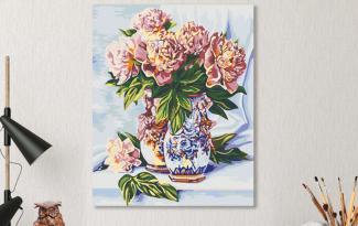 Картина по номерам на холсте 50х40 см. «рококо»