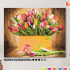 Картина по номерам на холсте 50х40 см. «Тюльпаны» 0 Preview
