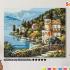 Картина по номерам на холсте 50х40 см. «Вилла на берегу озера» 0 Preview