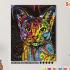 Картина по номерам на холсте 50х40 см. «Абиссинская кошка» 0 Preview