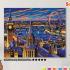 Картина по номерам на холсте 50х40 см. «Ночной Лондон» 0 Preview