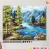 Картина по номерам на холсте 50х40 см. «Северные виды» 0 Preview