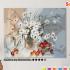 Картина по номерам на холсте с подрамником 50х40см. «Ромашки и черешня». 0 Preview