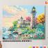 Картина по номерам на холсте с подрамником 50х40 см.  «Утром на побережье» 0 Preview