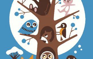 Картины по номерам на холсте 20х15см «У дерева». TM Selfica
