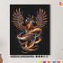 Картина по номерам на холсте 50х40 см. «Феникс». TM Selfica 0 Preview