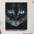 Картина по номерам на холсте 50х40 см. «Голубоглазый». TM Selfica 0 Preview