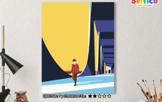 Картина по номерам на холсте 50х40 см. «Контрасты». TM Selfica
