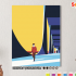 Картина по номерам на холсте 50х40 см. «Контрасты». TM Selfica 0 Preview