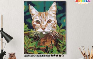 Картина по номерам на холсте 50х40 см. «Рыжий». TM Selfica
