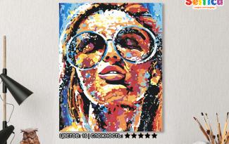 Картина по номерам на холсте 50х40 см. «Солнечная». TM Selfica