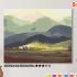 Картина по номерам на холсте 50х40 см. «У подножия гор». TM Selfica 0 Preview