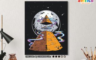 Картина по номерам на холсте 50х40 см. «Высший разум». TM Selfica