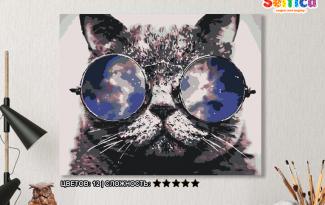 Картина по номерам на холсте 50х40 см. «Зри в корень». TM Selfica