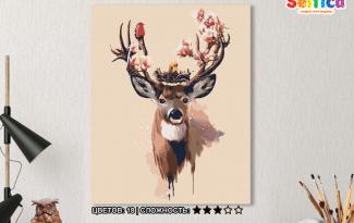 Картина по номерам на холсте 50х40 см. «Новая жизнь». TM Selfica