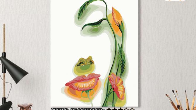 Картина по номерам на холсте 50х40 см. «Дух весны». TM Selfica 0