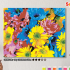 Картина по номерам на холсте 50х40 см. «Яркие цветы». TM Selfica 0 Preview