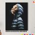 Картина по номерам на холсте 50х40 см. «В капюшоне». TM Selfica 0 Preview