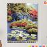 Картина по номерам на холсте 50х40 см. «Мост в саду». TM Selfica 0 Preview